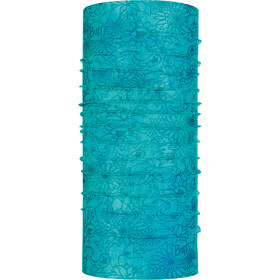 Buff Coolnet UV+ Insect Shield Neck Tube, surya turquoise